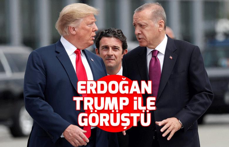 Başkan Erdoğan, Trump ile telefonda görüştü