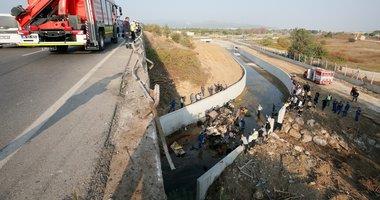İzmir'deki katliam gibi kazadan korkunç görüntüler!