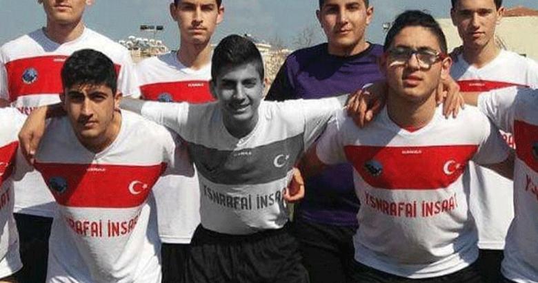 Genç futbolcu kaza kurbanı