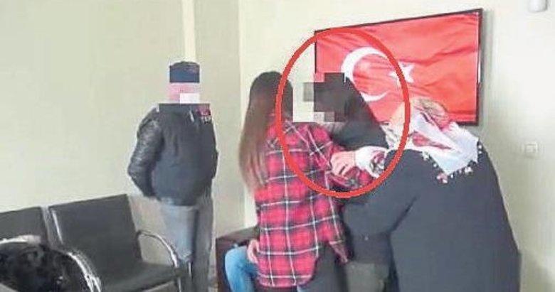 Teslim olan kadın PKK'lı ailesiyle buluştu