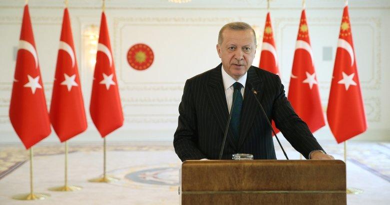 Başkan Erdoğan'dan Zafer Bayramı mesajı