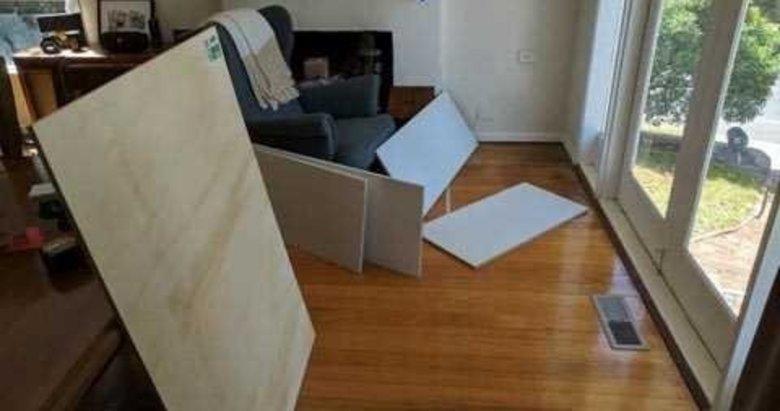 Evinin altına yaptığı şey şoke etti
