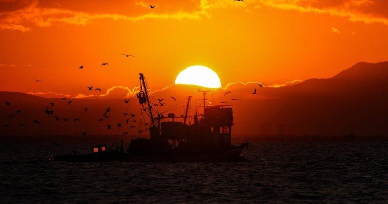 İzmir'de mest eden gün doğumu
