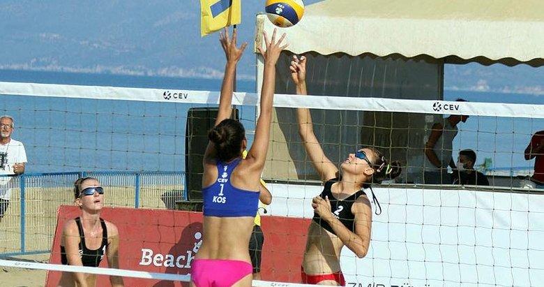 Plaj voleybolunda Türk ekipler elendi