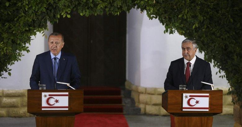 Başkan Erdoğan: Kıbrıs milli davamız