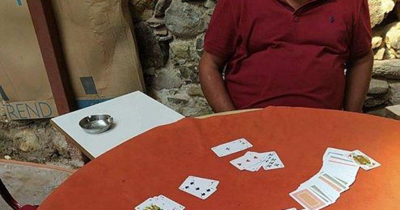 Manisa'da kumar oynayan 5 kişiye ceza