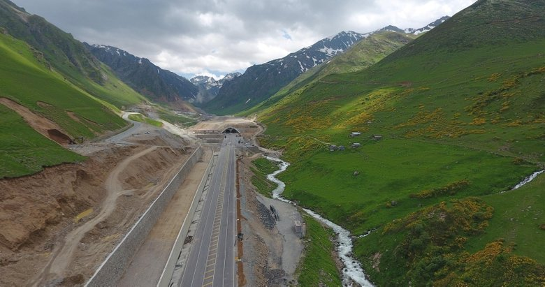 Türkiye'nin en uzun tüneli OVİT TÜNELİ açılıyor