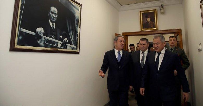 İstikrar ve barış için Rusya ile temaslarımız sürüyor