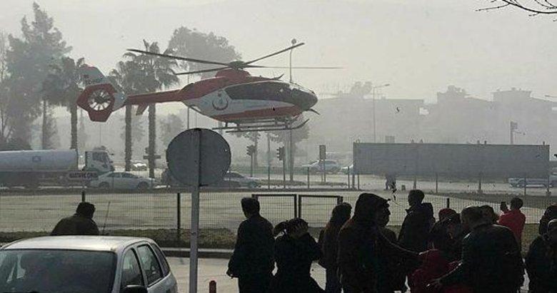 Sisli havaya aldırmayan 112 pilotu, Egemen Bebek için havalandı