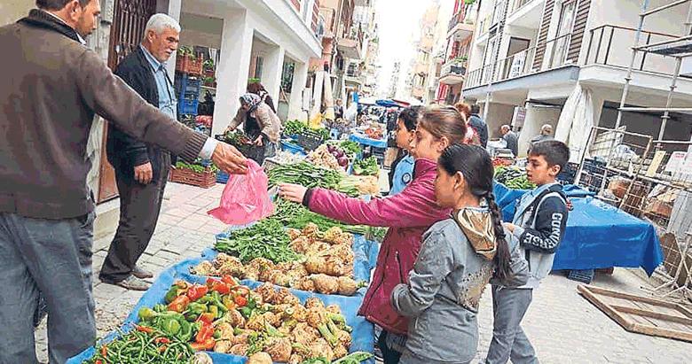 Öğrencilere pazarda alışveriş sınavı!