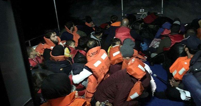 Didim'de 80 düzensiz göçmen yakalandı