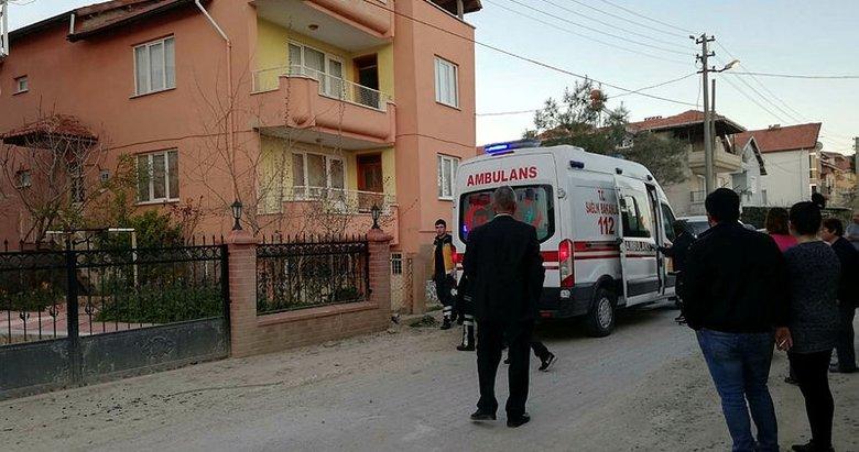 Uşak'ta balkonda ölen adamı komşusu fark etti