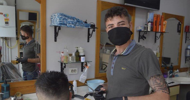 Kütahya'da koronavirüs nedeniyle karantinaya alınan 50 berberin test sonucu belli oldu