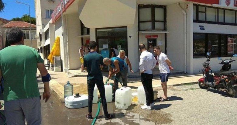 Foça'daki su sorunu vatandaşı canından bezdirdi! İzmir Büyükşehir Belediyesi sorun çözemiyor!