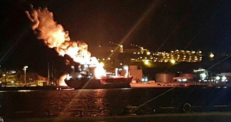 İzmir'deki gemideki patlama için savcılık bilirkişi görevlendirdi