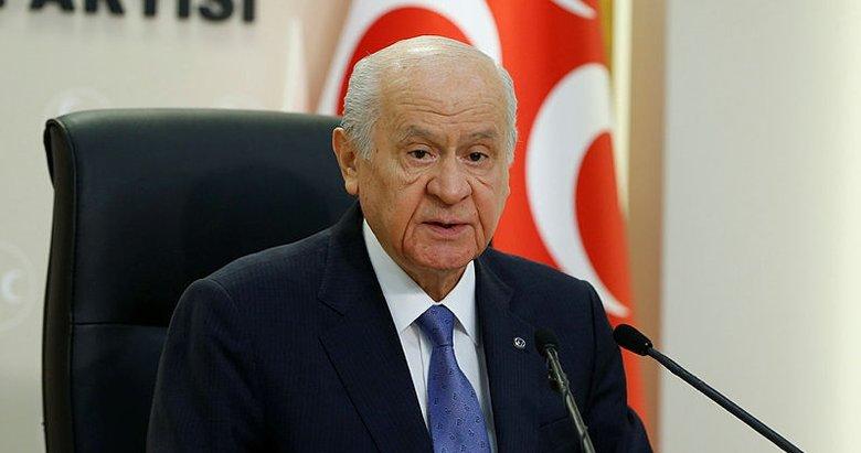 MHP Lideri Devlet Bahçeli'den Doğu Akdeniz göndermesi