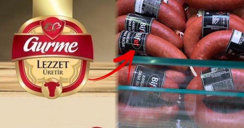Vatandaşlara domuz eti yediren Gurme Gıda'dan büyük sahtekarlık! Yakalanınca ismini değiştirip 'Bifet' yaptı!