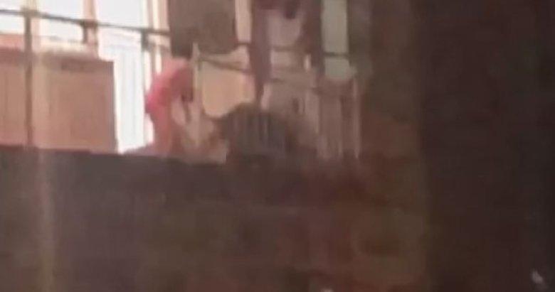 İzmir'de koca dehşeti! Çocuklarının gözü önünde darp etti