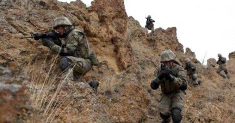 Tel Rıfat'taki PKK/YPG taciz ateşlerine jet karşılık