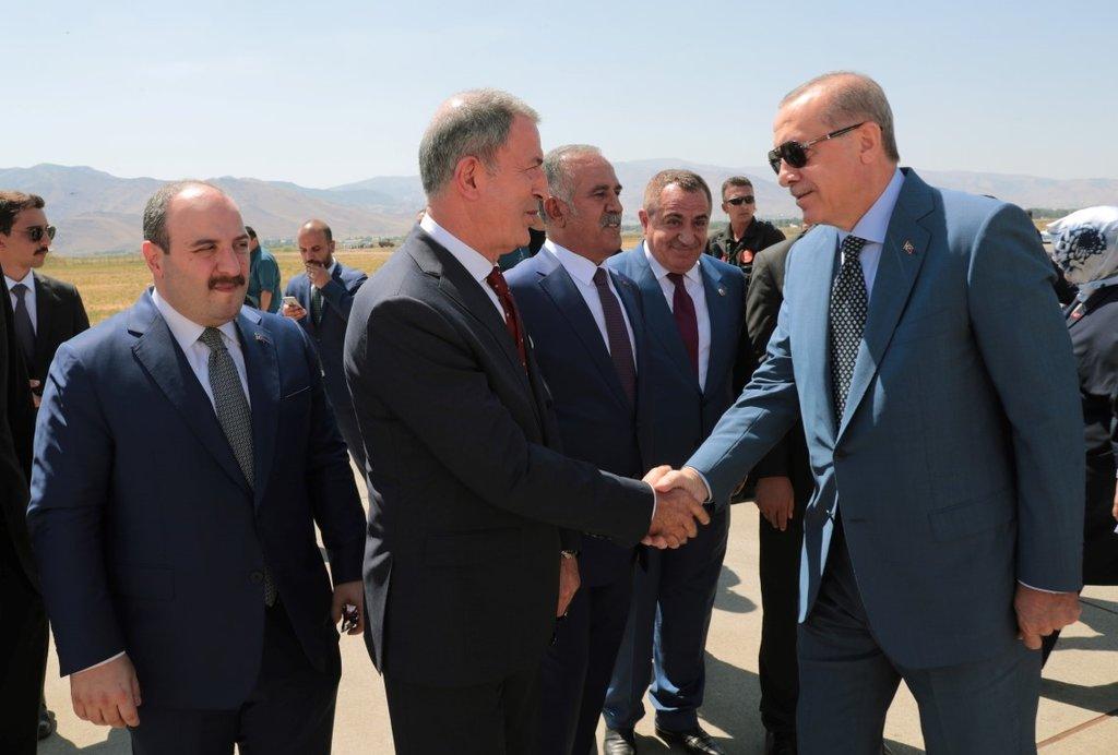 Malazgirt Başkan Recep Tayyip Erdoğanı bekliyor