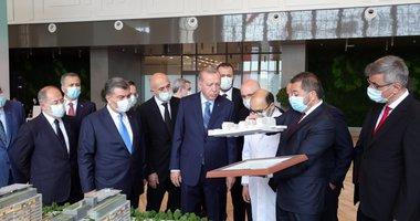 Başkan Recep Tayyip Erdoğan, Başakşehir Çam ve Sakura Şehir Hastanesi'nde inceleme yaptı
