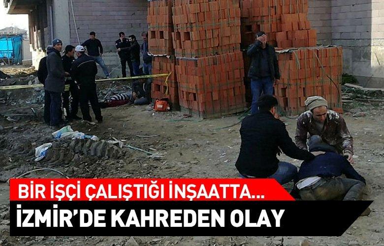 İzmir'de bir kişi çalıştığı inşaatta intihar etti