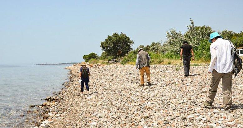 Çanakkale-Balıkesir kıyı şeridinde insanlığa en uzak yeni buluntulara ulaşıldı