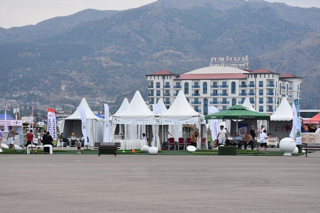 Afyonkarahisar uluslararası yarışmalar için tercih edilen bölge haline geldi