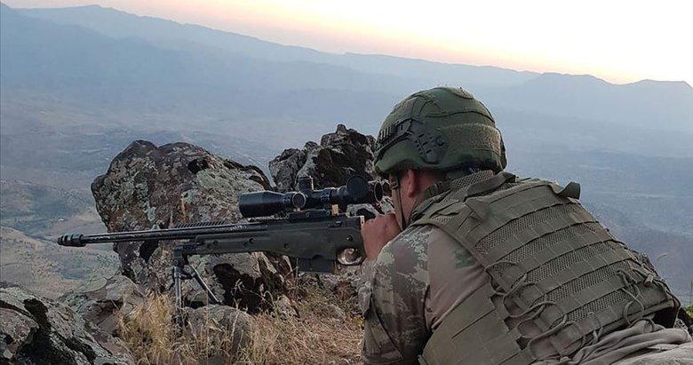 Kuzey Irak'a hava harekatı: 8 terörist etkisiz hale getirildi