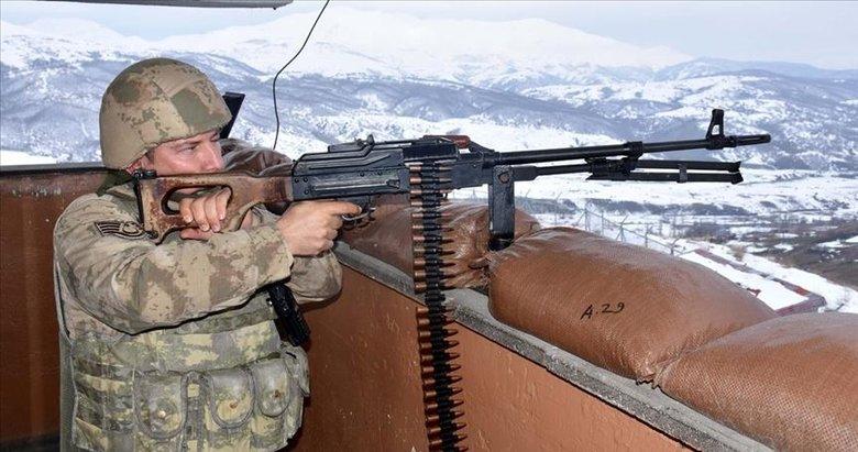 Fırat Kalkanı bölgesine taciz atışı yapan 4 terörist etkisiz hale getirildi