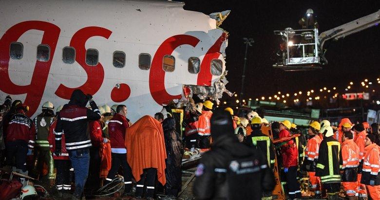Pistten çıkan uçaktaki yaralı yolcu korku dolu o anları anlattı