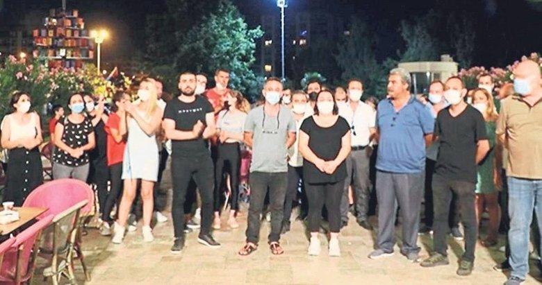 İzmir'de 3 isyan