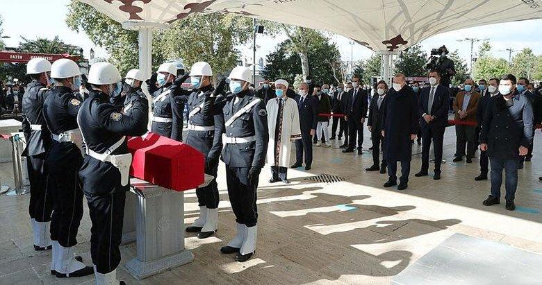 Burhan Kuzu'ya veda! Başkan Erdoğan da cenaze törenine katıldı