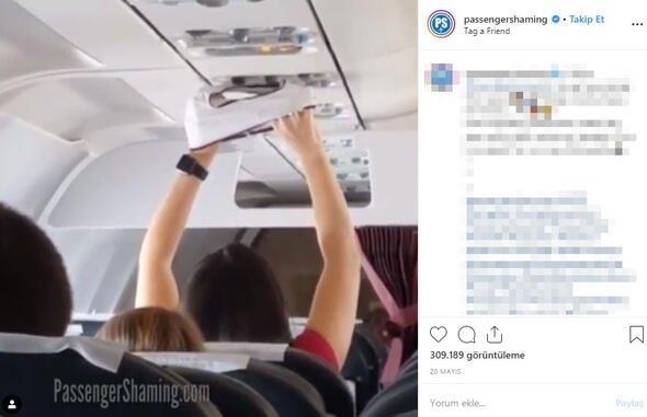 Uçakta 'iğrenç' olay! İşte yolda karşılaşmak istemeyeceğiniz insanlar