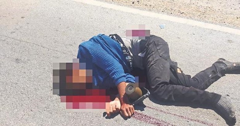 Denizli'de otomobil ile motosiklet çarpıştı: 1 ölü