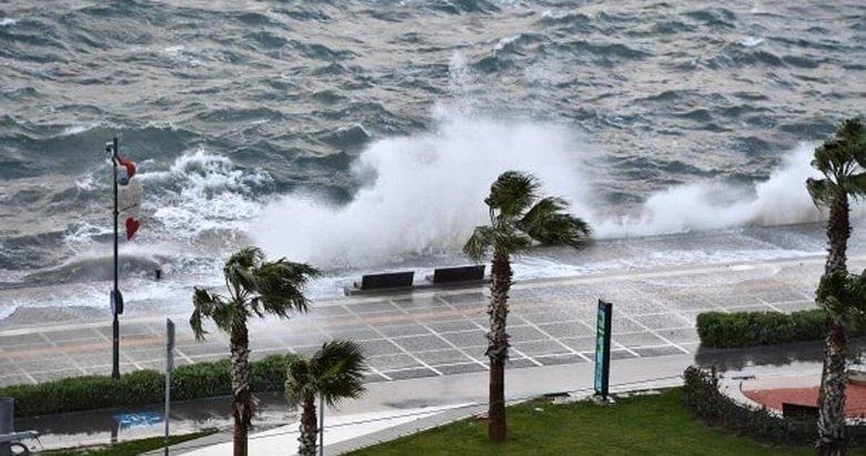 Şiddetli rüzgar uyarısı! İzmir ve Ege'de hava nasıl olacak?