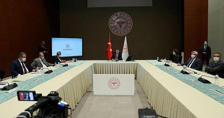 Koronavirüs Bilim Kurulu Sağlık Bakanı Fahrettin Koca başkanlığında toplanıyor! İşte masada olan konular