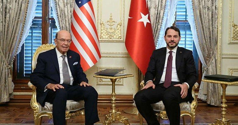 Bakan Berat Albayrak'tan önemli görüşme