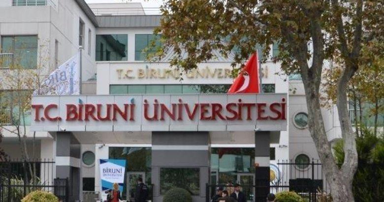 Biruni Üniversitesi 1 öğretim üyesi alacak