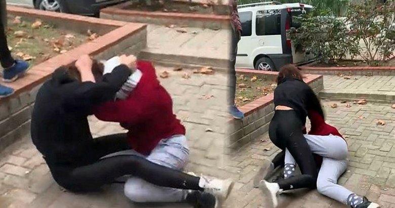 İzmir'deki TikTok rezaletinde yeni kavga görüntüleri çıktı