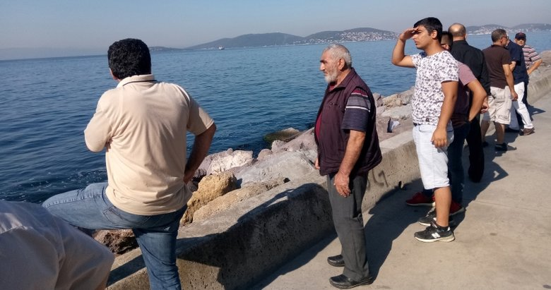 Denizde kaybolan kişiyi arama çalışmaları sürüyor
