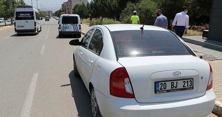 Otomobille sivil polis aracına çarpan Azeri kadın, 'polis çağırmayın' dedi