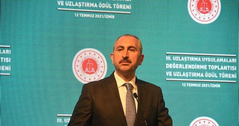 Bakan Gül: 2017'den beri 1 milyon 14 bin dosyada mağdur ile şüpheli uzlaştı