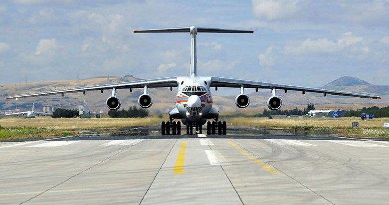S-400 sevkiyatında 12. uçak Ankara'ya indi