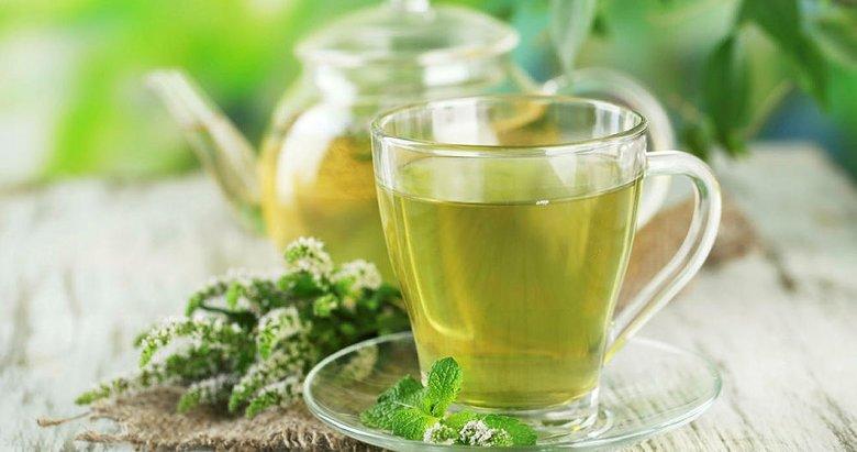 Sağlıklı ağız ve dişler için yeşil çay