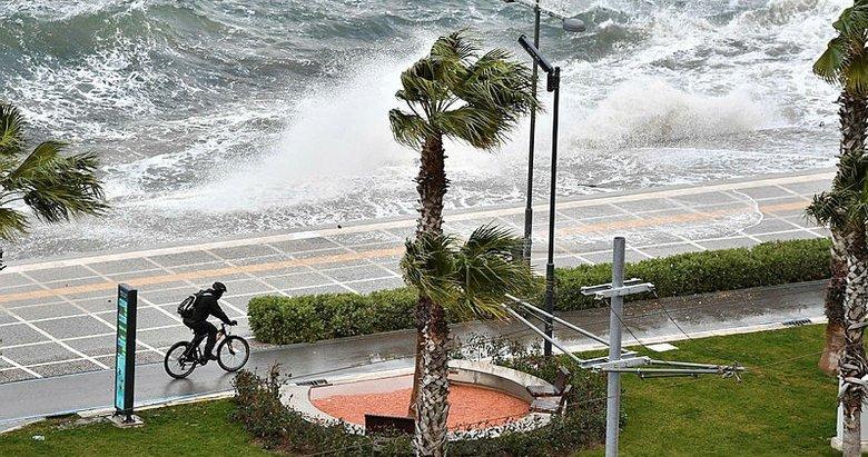 İzmirliler dikkat! Ege'de fırtına etkili oluyor