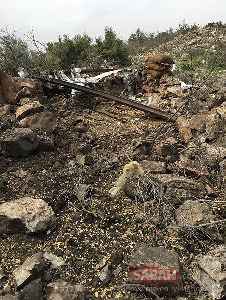 Terör örgütü YPG/PKKnın inleri didik didik aranıyor