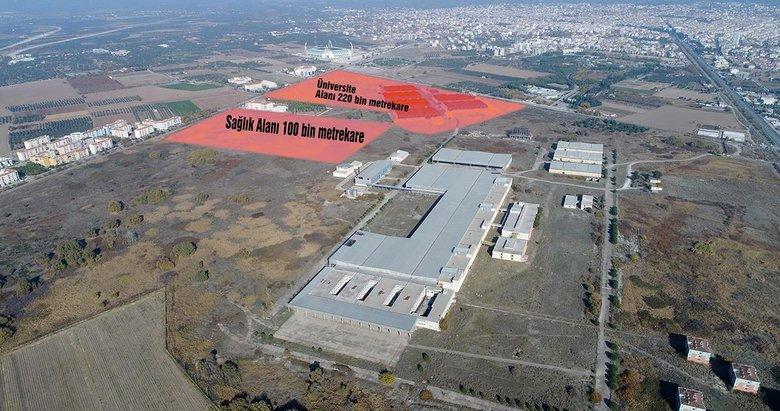 Akhisar Sigara Fabrikası arazisine hastane yapılacak