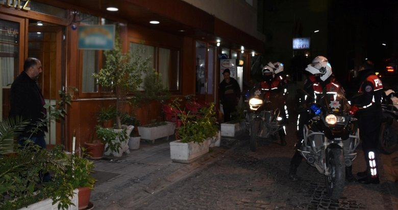İzmir'de asayiş uygulaması