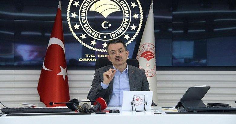 Bakan Bekir Pakdemirli İzmir'e müjdeleri sıraladı